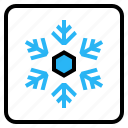 cool, industry, making, ski, snow icon