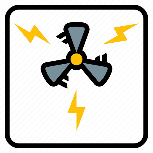 electricity, generation, industry, turbine, wind icon