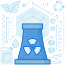 chimney, energy, industry, nuclear, power, production