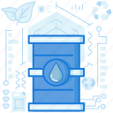canister, container, drop, industry, liquid, transport, water icon