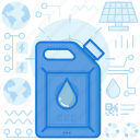 canister, container, fuel, gasoline, industry, liquid, transportation icon