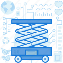 construction, elevator, equipment, industry, lift, machine