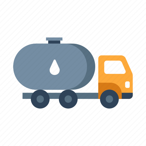 fuel, gas, gasoline, industry, oil, truck, vehicle icon