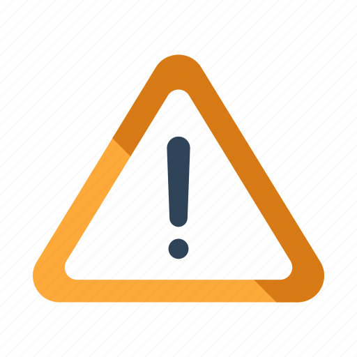 alert, caution, danger, exclamation, risk, sign, warning icon
