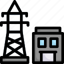 industry, manufacturing, factory, production, electricity, energy, power