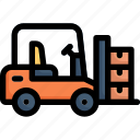 industry, manufacturing, factory, production, forklift, truck, logistic
