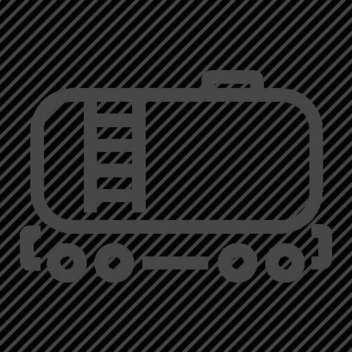 gas, tank, transportation icon
