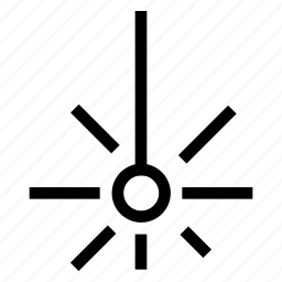 creative, cut, cutting, grid, industry, laser, light, line, shape, technology icon