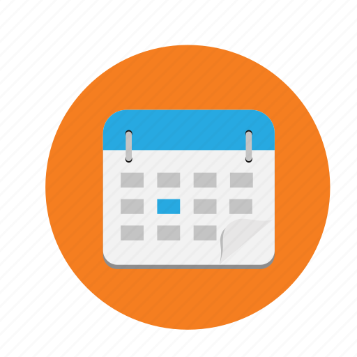 academics, calendar, dates, planning icon
