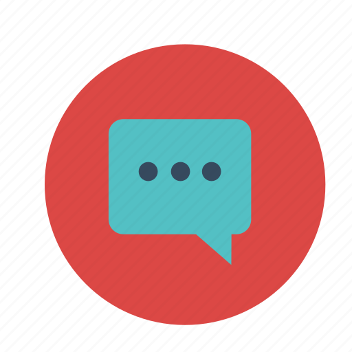 chat, chatbox, message, quote icon