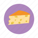 cheese, food, piece, recipe, slice icon