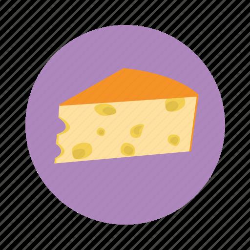 cheese, food, piece, recipe, slice icon