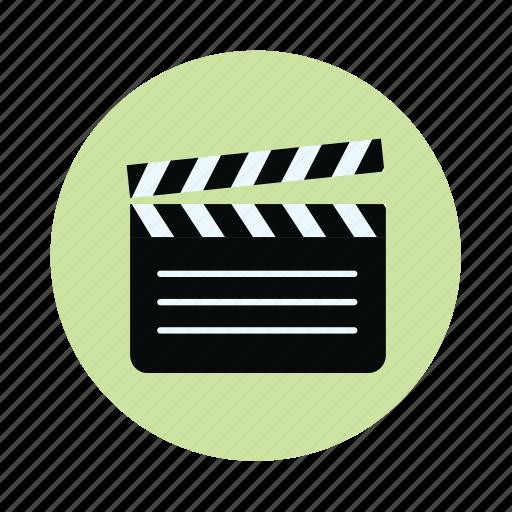 clapboard, clapper board, direction, film, film slate, movie icon