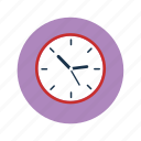 analog clock, clock, time, wall clock icon