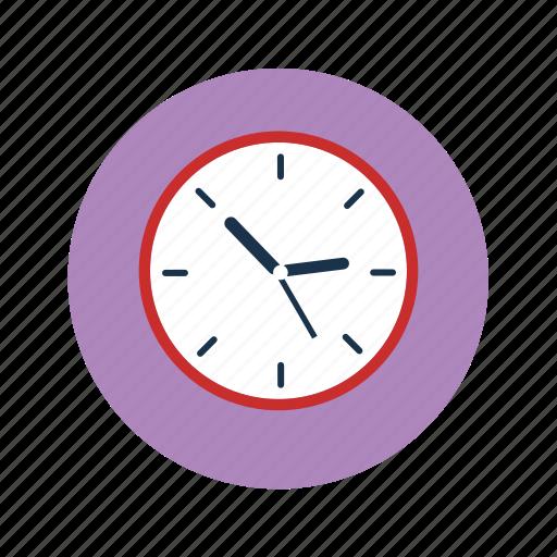 analog clock, clock, time, wall clock icon