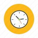 alarm, analog clock, clock, time, wall clock icon