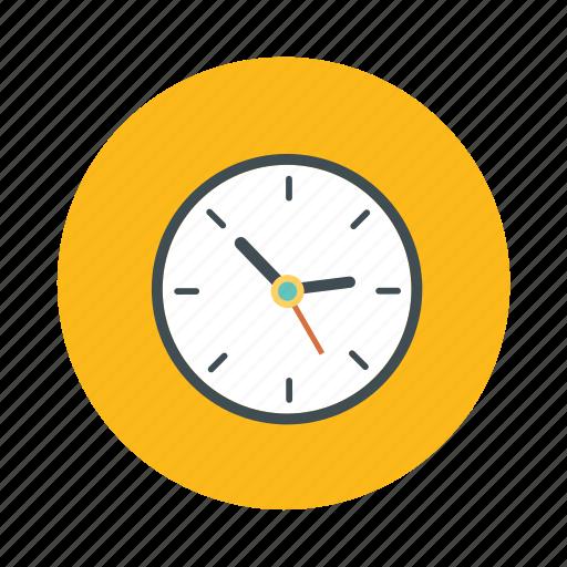 alarm, analog clock, clock, time, wall clock icon