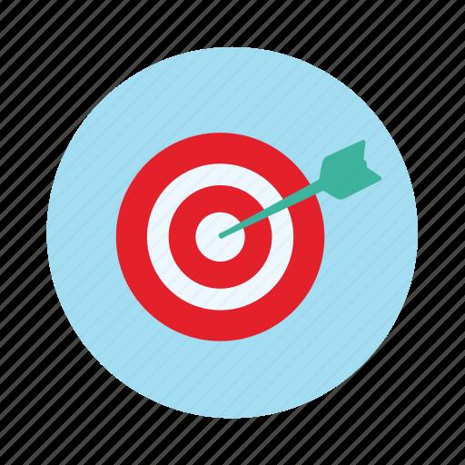 aim, arrow, board, dart, dart board, target icon