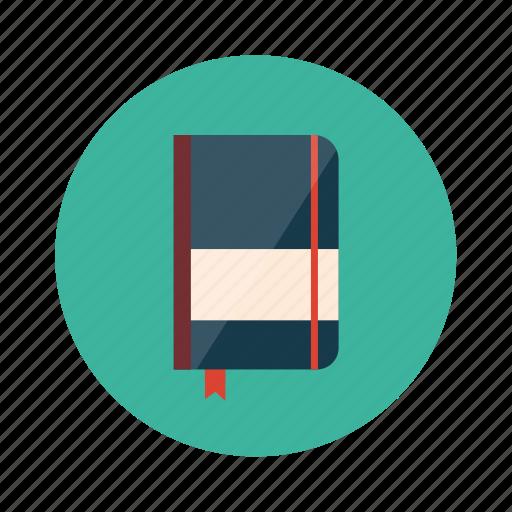 book, bookmark, copybook, diary, novel icon