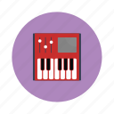electronic, keyboard, music, piano icon