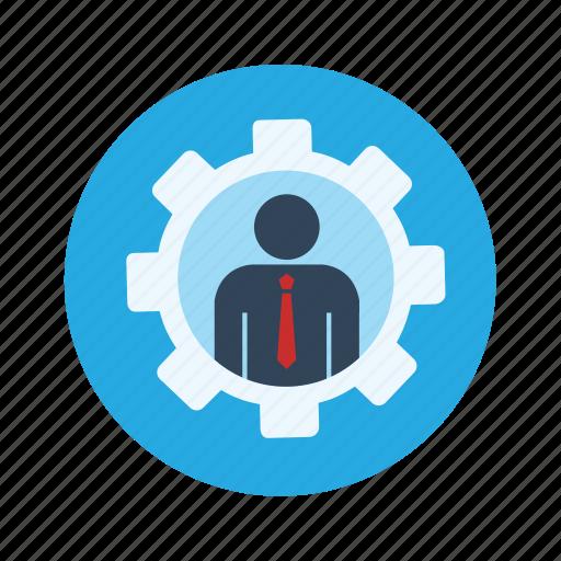 engineer, man settings icon