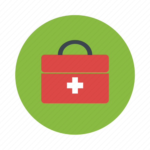 aid, first, first aid kit, medical, medical bag icon