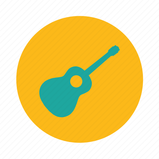 electric guitar, guitar, instrument, music icon