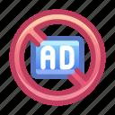 ad, advertisement, block
