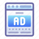 ad, advertisement, browser, website