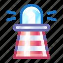 lighthouse, marine, building