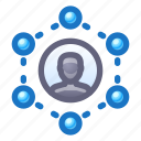 network, contacts, social network