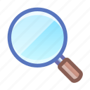 search, magnifier, glass, tool