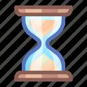 hourglass, time, wait, waiting