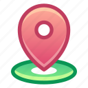 pin, location, gps, area
