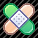 patch, bandage, medical, treatment