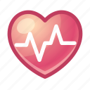 heart, rate, cardiogram, pulse