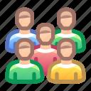 group, users, people, team