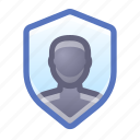 shield, protection, account, privacy