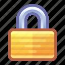 lock, secure, security, safe