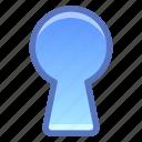 privacy, secret, keyhole