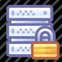 server, lock, safe, encrypted, protected