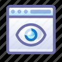 privacy, eye, spy, track, web