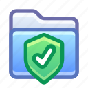 folder, shield, protection, safe, secure