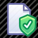 file, shield, protection, safe, secure
