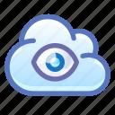 cloud, eye, privacy