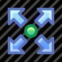 resize, expand