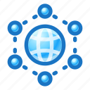 web, internet, global, network