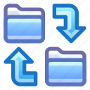 folder, sync, synchronize, backup