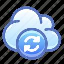 cloud, internet, sync, synchronize