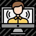 broadcasting, influencer, player, video, vlog, vlogger, youtuber